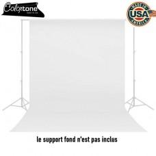 Fond studio en papier Colortone Blanc 9301 2.75 x 11 m