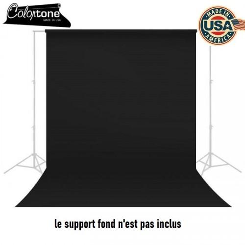 Fond studio en papier Colortone Super Black 4420 2.75 x 11 m