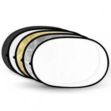 Godox réflecteur 5 en 1 100 x 150 cm ovale