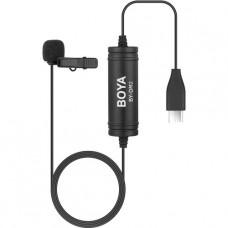 BOYA BY-DM2 Micro cravate numérique omnidirectionnel USB Type-C