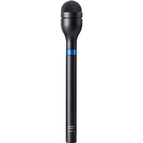BOYA BY-HM100 Microphone omnidirectionnel à 360° pour interview.