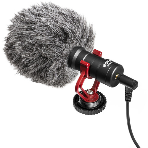 BOYA BY-MM1  Microphone universel compact