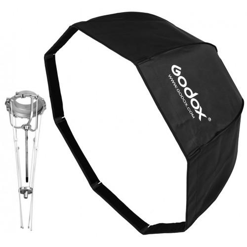 Softbox Godox Pliable 120cm Octogonale Monture Bowens