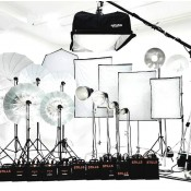 Flash de studio et accessoires (106)