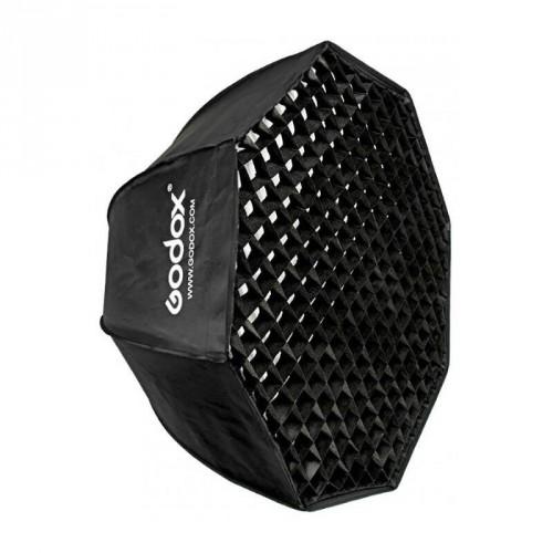 Softbox Godox 95cm Octogonale avec Grid Monture Bowens